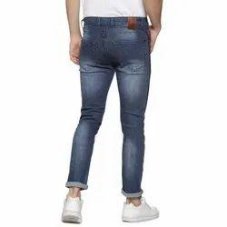 Denim Faded Blue Mens Jeans