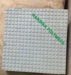 18 Flat Squares Tile Mould