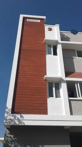 Exterior Wall Cladding Fibre Cement Plank Size 6 In X 10