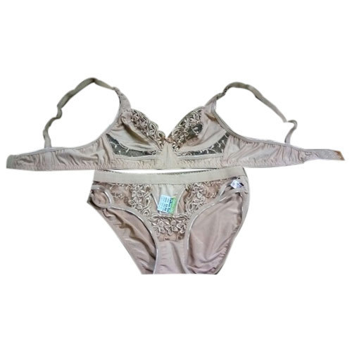 Multicolor Cotton Ladies Bra Panty Set 132b3dd2d
