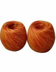 Red, Yellow Silk Reshmi Pooja Kalawa, Packaging Type: Packet
