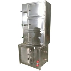 Stainless Steel Electric Idli Steamer Machine