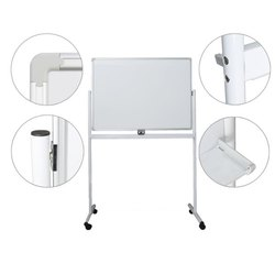 White Board With Stand, Marker