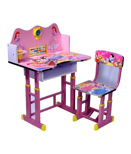 Plastic Orted Children Study Table