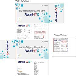 Atorvastatin & Clopidogrel Bisulphate Tablets