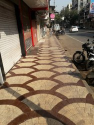 Footpath stamp concrete services