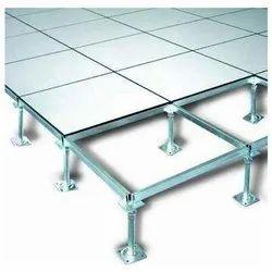 Aluminium, PVC False Flooring, Size: 600 mm, Thickness: 20 to 22 mm