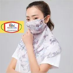 Mask Scarf Combo in Breathable Fabric