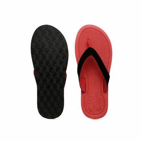 3412ad6d7 Red And Black Men Kids Flip Flop