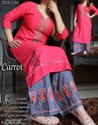 Traditional Party Wear Kurti With Palazzo