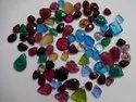 Pink Stone Synthetic, Glass Oval Shape Carving, Carved Fancy Calibrated Loose Gemstone Pairing Set