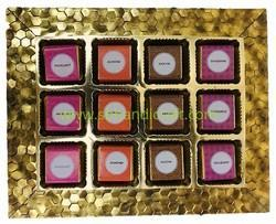 Chocolate Trays with Assorted Flavour Chocolates