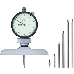 DIAL DEPTH GAGE (base 63x17mm), 0-300mm, graduation 0.01mm