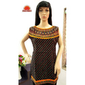 Cotton Sleeveless Printed Short Kurti, Size: S-xxl