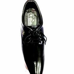 Leeds Black Mens Formal Shoes