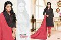 Collar Neck Maarisha Salwar Suit Fabric