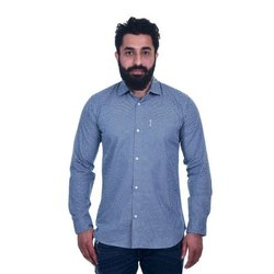 Full Sleeves Mens Formal Cotton Shirt, Size: S-XXL