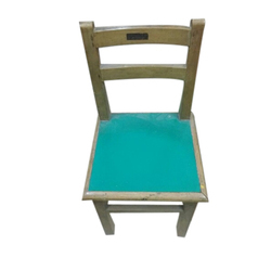 wooden school chair. wooden school chair