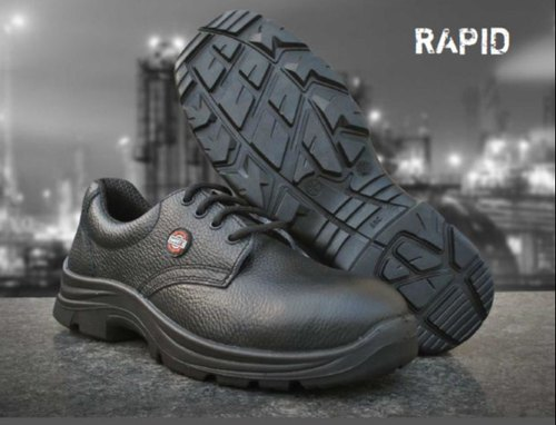 Safetex Black Sporty Multi Function Safety Shoes