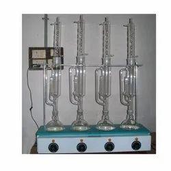 Glass Soxhlet Extraction Apparatus