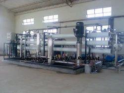 25 M3/hr Reverse Osmosis Plant