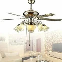 Ceiling Fan Decorative Ceiling Fans, Warranty: 2 Year