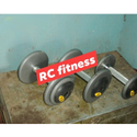 Rubber Round Powder Coated Dumbbell 140 Rupya Per Kg