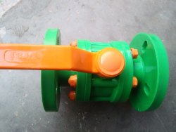 FLANGED BALL VALVE