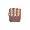 Square Shape Wooden Printing Block