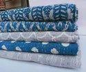 Handmade Kantha Bed Cover Blanket Trow