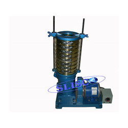 Sieve Shaker with Sieve Set Granulating