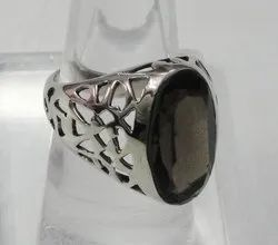 Studded Silver Rings