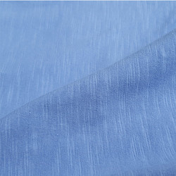 Custom Color Possible Plain Organic Slub Jersey Fabric, Use: Organic Clothing