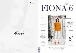 Mrigya Fiona Nx-6 Series 1386-1391 Stylish Party Wear Rayon Tops