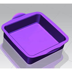 Purple Cake Mold