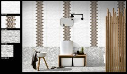 12x18 Inch 3D Bathroom Wall Tiles