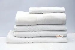 White Plain Hotel Terry Towel, 450-550 GSM, Size: 36*72
