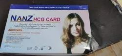 Nanz Card One Step Rapid Pregnancy Test Device, Packaging Size: 50 Test/Kit