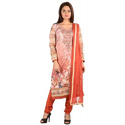 Multicolor Cotton Trendy Designer Ladies Suit