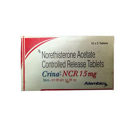Norethisterone Acetate Controlled Release Tablets