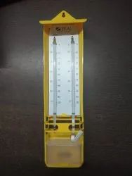 Wet and Dry Hygrometer