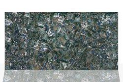 green Polished Moss Agate Stone, for anywhere in interior use