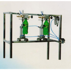 Manual PET Bottle Soda Filling Machine