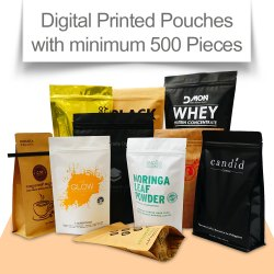 Digital Printed Stand Up Pouches