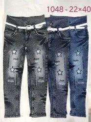 ZEDWORD Denim Jeans for Girls