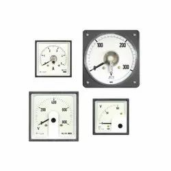 Meco Moving Coil Rectifier Panel Ammeter
