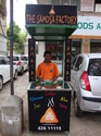Promotional Food Kiosk