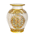 Marble Surahi Pot For Decoration