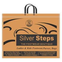 Handled Printed Non Woven Laminated Shopping Bag, Capacity (Kg): Up To 5 Kg