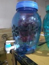 Designer Water Dispenser Jug Pot with Tap and Handle - 4.5 Ltr Capacity